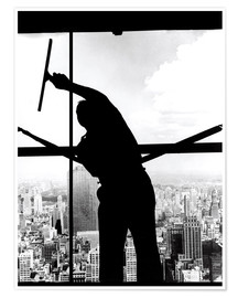 Poster  Empire State Window Washer