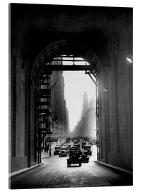 Verre acrylique  Arch at Grand Central Station - historical