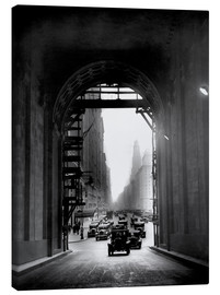 Toile  Arch at Grand Central Station - historical
