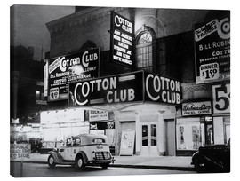 Toile  Cotton Club in Harlem, New York