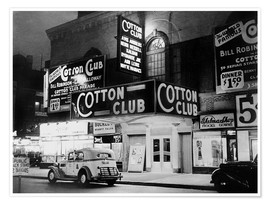 Poster  Cotton Club in Harlem, New York