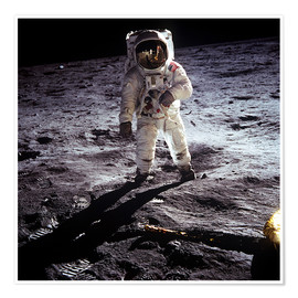 1st steps of human on Moon