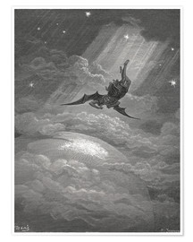 Poster  Paradise Lost - Gustave Doré