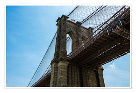 Poster Brooklyn Bridge in New York