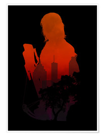 Poster  The Walking Dead - Daryl Dixon - HDMI2K