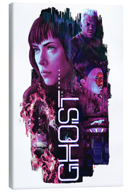 Tableau sur toile  Ghost in the Shell - Barrett Biggers