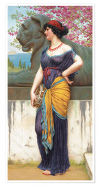 Poster In the grove of the Temple of Isis