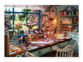Poster  25512 Grandmas Craft Shed Ravensburger Crop 2 - Steve Read