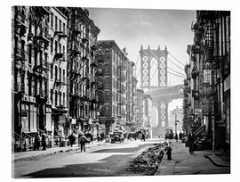 Verre acrylique  Historic New York: Pike and Henry Streets, Manhattan - Christian Müringer
