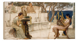 Bois  Sappho and Alcaeus - Lawrence Alma-Tadema