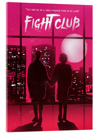 Verre acrylique  Fight club - 2ToastDesign