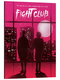Alu-Dibond  Fight club - 2ToastDesign