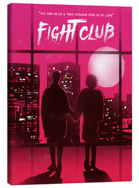 Toile  Fight club - 2ToastDesign