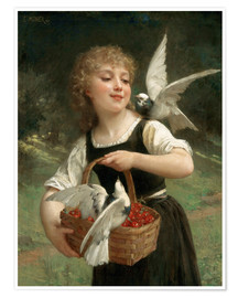 Poster  Messenger of Love - Emile Munier