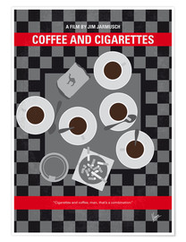 Poster Coffee and Cigarettes (anglais)