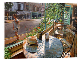 Tableau en verre acrylique  Greenwich Cafe - Johnny Morant