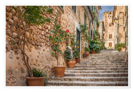 Poster  Fornalutx - Most beautiful village in Majorca - Christian Müringer