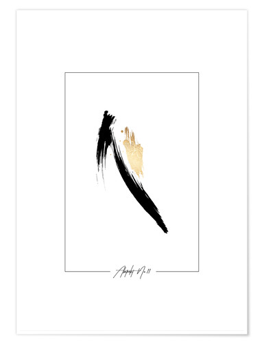 Poster Abstrait n° 11