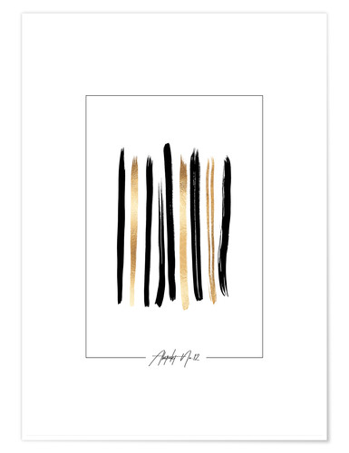 Poster Abstrait n° 12