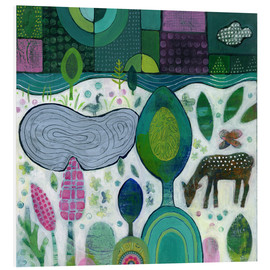 Tableau en PVC  Playful Dawn - Janet Broxon