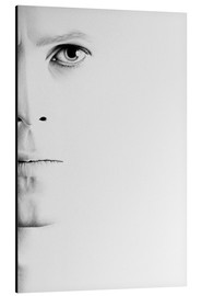 Alu-Dibond  David Bowie Minimal Portrait - Ileana Hunter