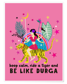 Poster Be like Durga