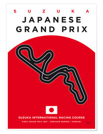 Poster Japanese Grand Prix