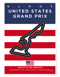 Poster Elroy, United States Grand Prix