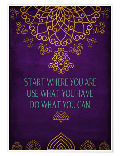 Poster Do what you can