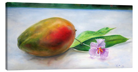 Tableau sur toile  julie mango with orchid - Jonathan Guy-Gladding