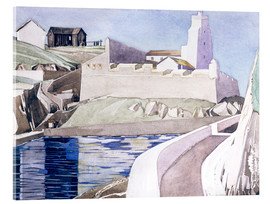 Tableau en verre acrylique  Le Phare - Charles Rennie Mackintosh