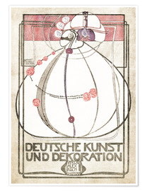 Poster German art and decoration