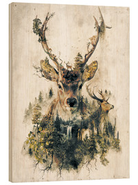 Bois  Deer Nature Surrealism - Barrett Biggers