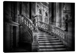 Toile  Stairs up - Sabine Wagner