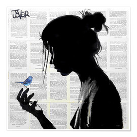 Poster  Note bleue - Loui Jover
