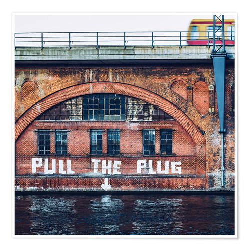 Poster Berlin - Pull the Plug