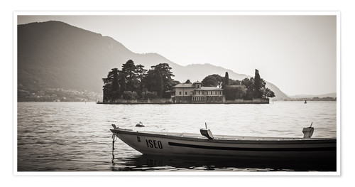 Poster Italy - Lake Iseo