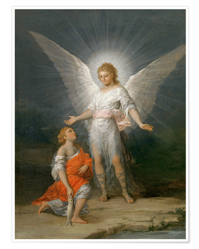 Poster Tobias and the Angel
