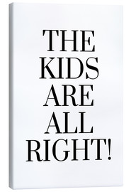 Tableau sur toile  The kids are all right! - Ohkimiko