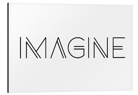 Tableau en aluminium  Imagine - Ohkimiko