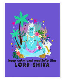 Poster Lord Shiva