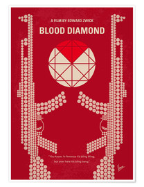 Poster Blood Diamond (anglais)