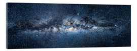 Verre acrylique  Milky Way Panorama - Jan Christopher Becke