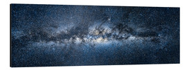 Alu-Dibond  Milky Way Panorama - Jan Christopher Becke
