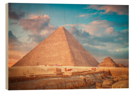 Bois  great pyramid of Giza in Egypt