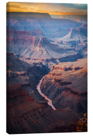 Tableau sur toile  Amazing Sunrise of the Grand Canyon