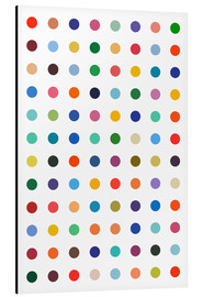 Tableau en aluminium  Points colorés - THE USUAL DESIGNERS