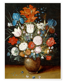 Poster Bouquet of flowers in a vase