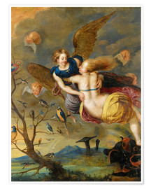 Poster An Allegory of Air