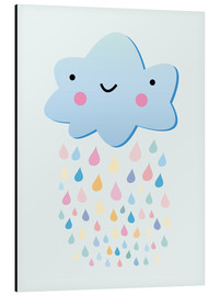 Alu-Dibond  Petit nuage content - Kidz Collection